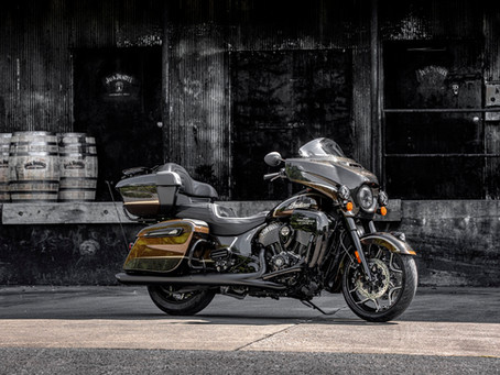 Grab Yourself A Classy Indian Roadmaster With A Side Of Jack Daniel's.