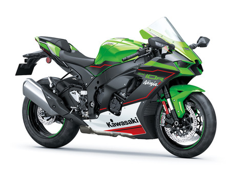 2021 Kawasaki ZX-10 Gets Fresh New Design
