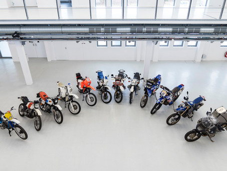 40 Years Of BMW GS Models