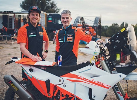 Aussie Daniel Sanders Joins KTM Rally Team