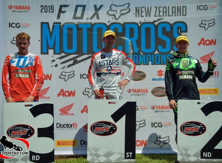 Cody Cooper takes Round 1 of 2019 NZMX Nationals