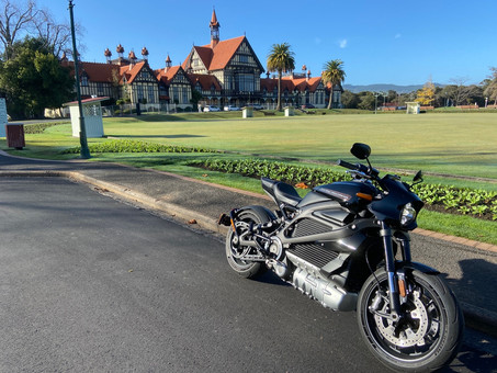 Living With An Electric Motorcycle | Harley-Davidson LiveWire at Home