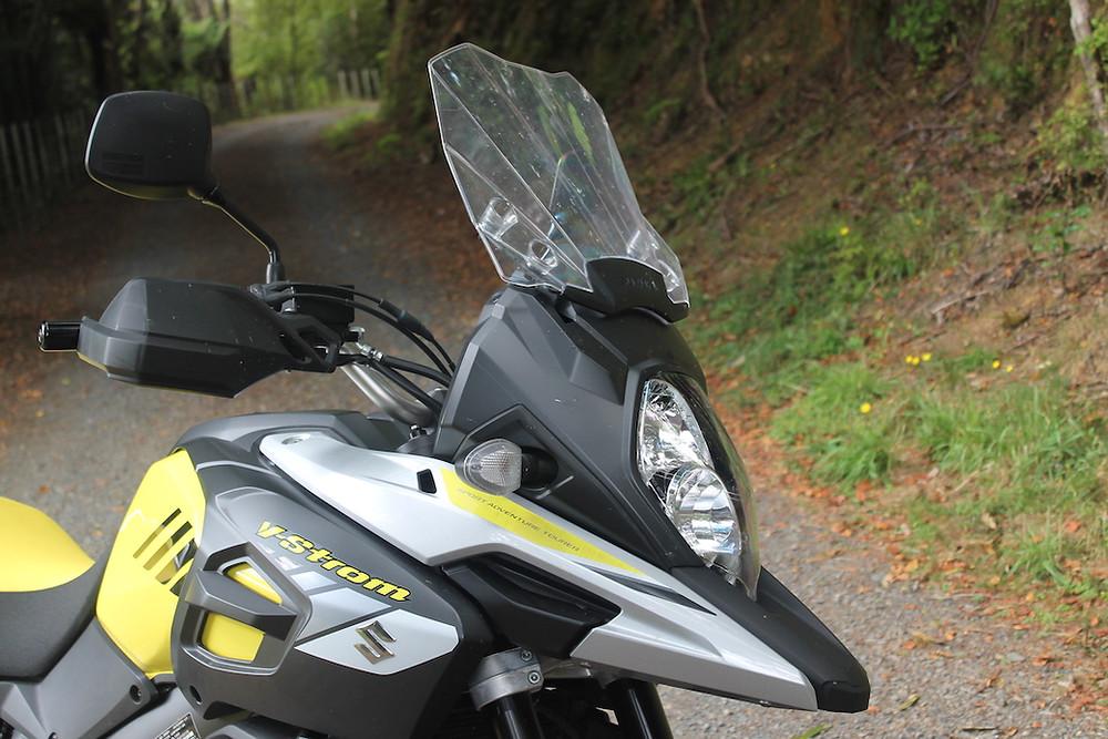 Suzuki V-Strom windscreen