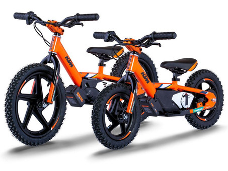 KTM and Husqvarna Electric Balance Bike Pricing Confirmed