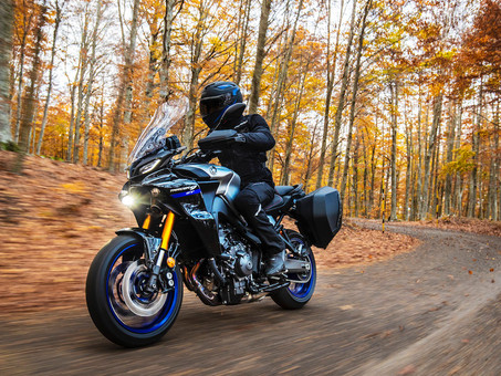 Yamaha's Tracer Triple Becomes Tracer 9 GT for 2021