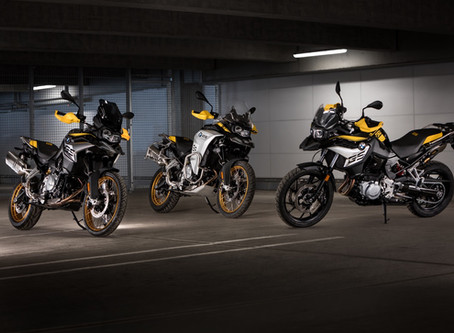 BMW's F Series GS Models Get 40th Anniversary Makeover