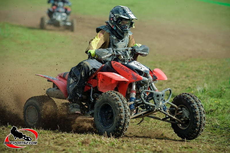 ATV Racer Kim Reid. Photo by Andy McGechan