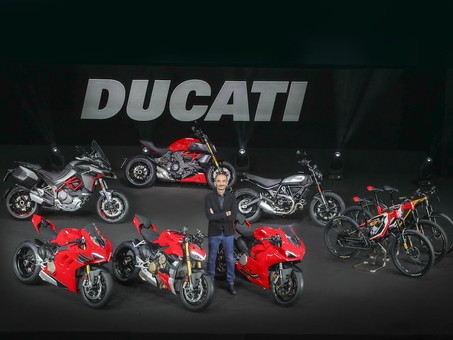 Ducati Moves Into 2020 With Hot New Models