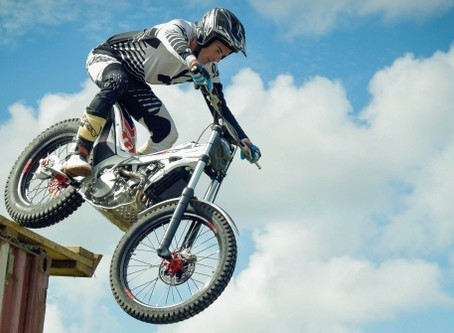 Trials Riders on Show at Mike Pero MotoFest