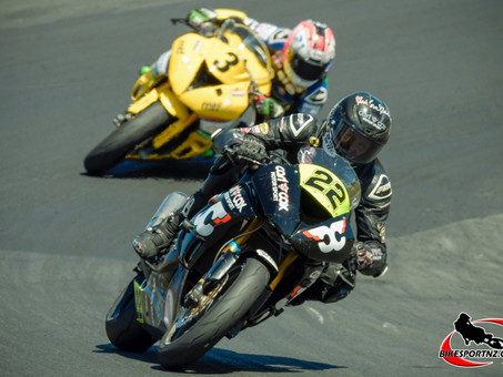Kawasaki Duo in Charge of NZSBK 600cc Class