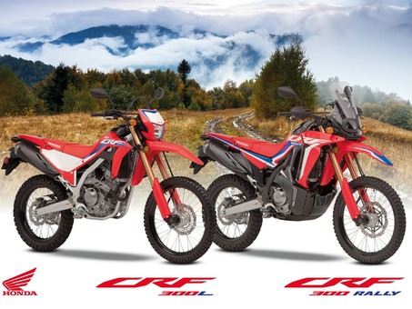 Honda CRF300L and Rally Confirmed For Europe And Australia