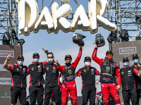 Honda Wins Dakar Rally 2021