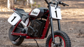 Indian Motorcycle Gets Into Kids Bikes With eFTR Mini