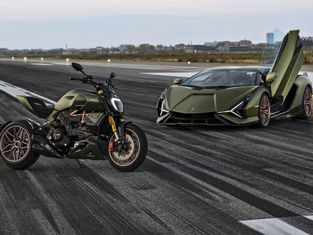 Ducati and Lamborghini Team Up