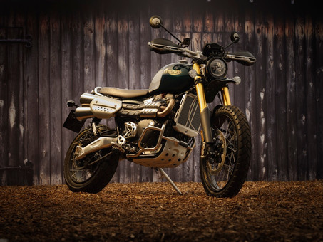 Triumph's Scrambler 1200 Steve McQueen Pays Homage To The Great Escape Icons