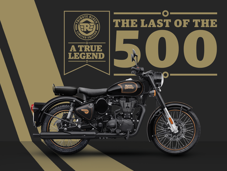 Limited Edition Farewell For Royal Enfield Classic 500