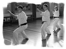 Modelling individual karate techniques