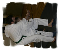 Tsubame Gaeshi throwing technique from Shotokai Karate
