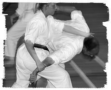Koma Nage Throwing technique from Shotokai Karate