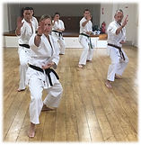 UK Shotokaido Group Kata Heian Nidan_Wok