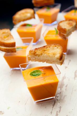 Creamy Tomato Soup Shooter