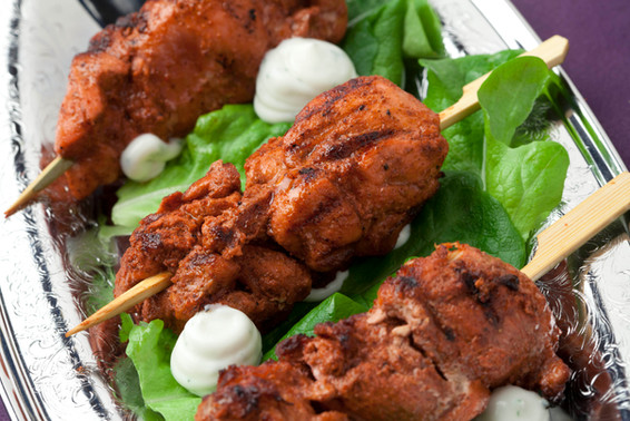 Tandori Chicken Skewer