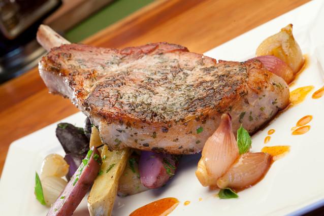Pan Seared Pork Chop