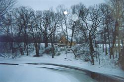 Cabin in winter