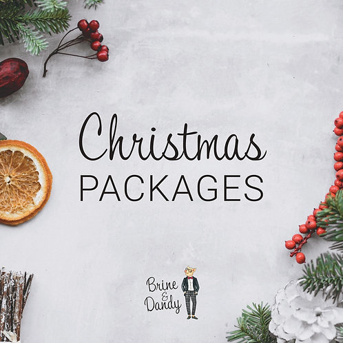 Christmas Dinner Menu Package - 3 Courses