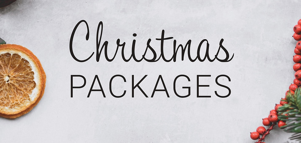 Christmas Dinner Menu Package - 3 Courses