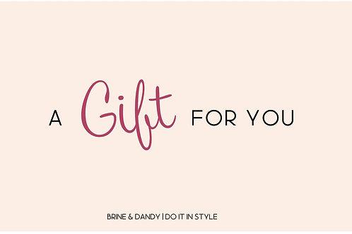 Brine & Dandy Gift Voucher