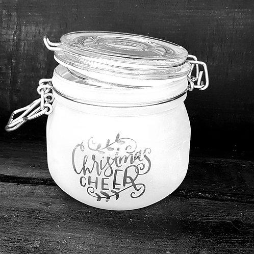 Christmas cheer jar