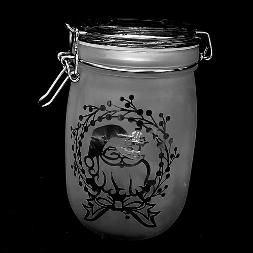 Santa medium jar