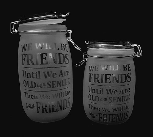 Old and senile jars