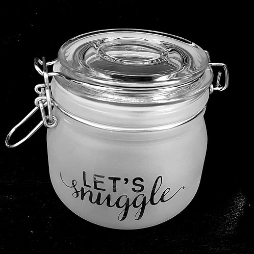 Let's snuggle small jar