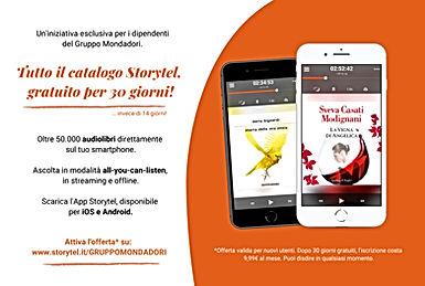 Gift Card Storytel2 - Gruppo Mondadori -