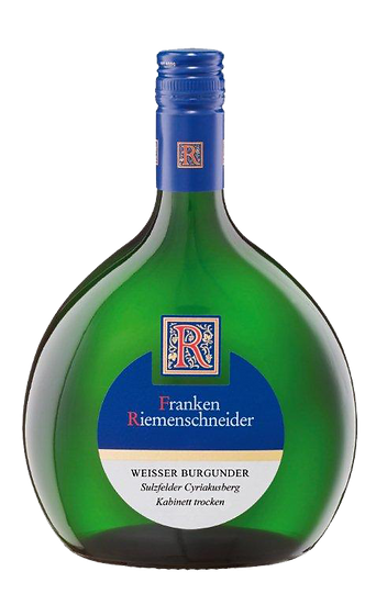 Franken Riemenschneider Weisser Burgunder Kabinett - Trocken