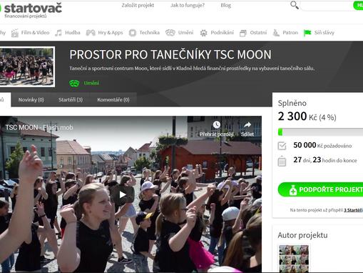 Podpořte nás na Startovač.cz