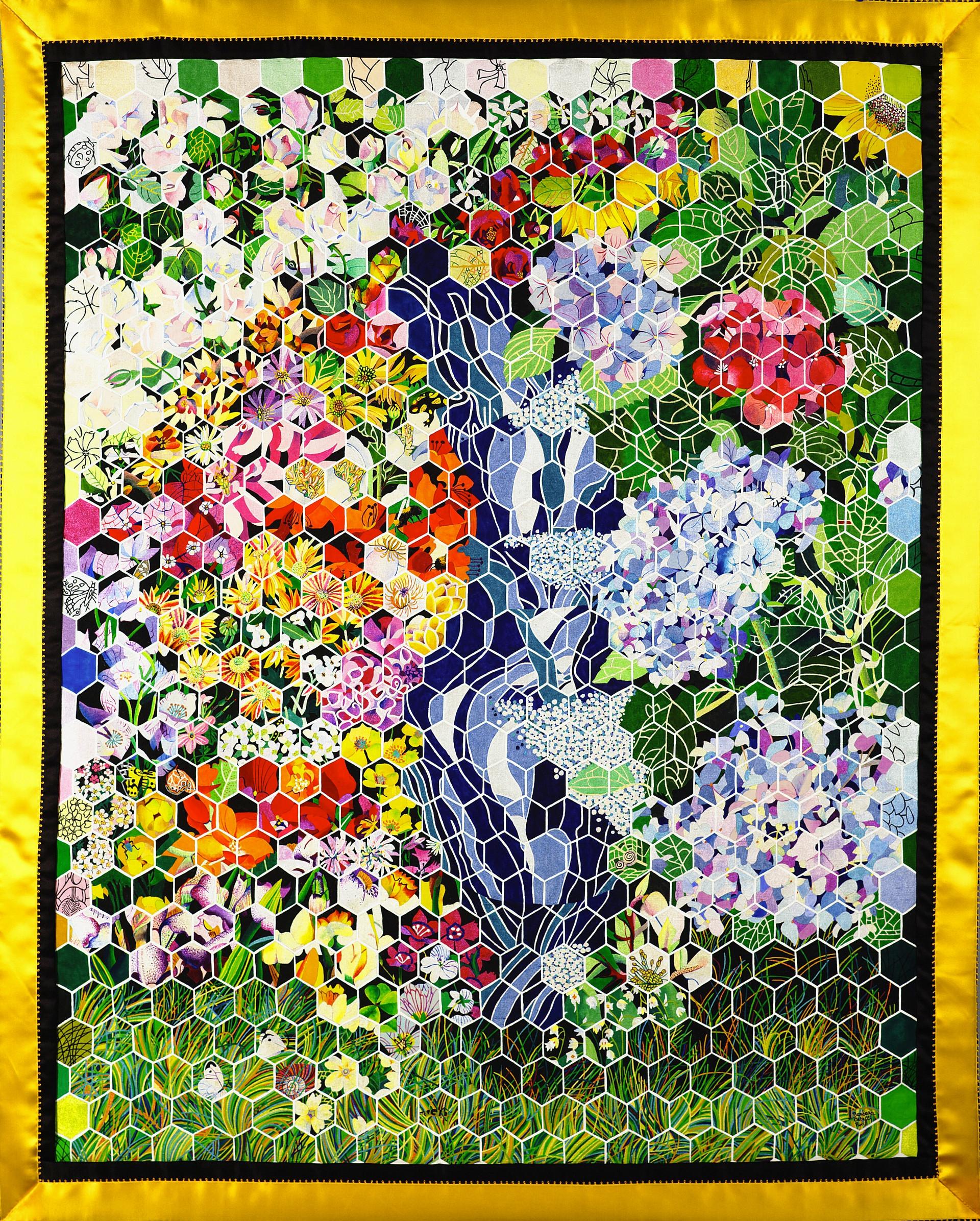 Il mio giardino. Scintille di colori.
