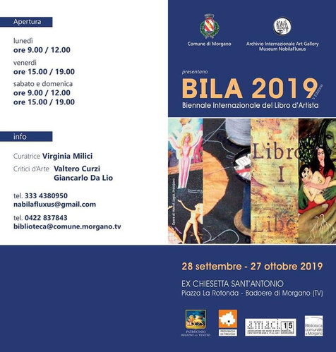Locandina BILA 2019