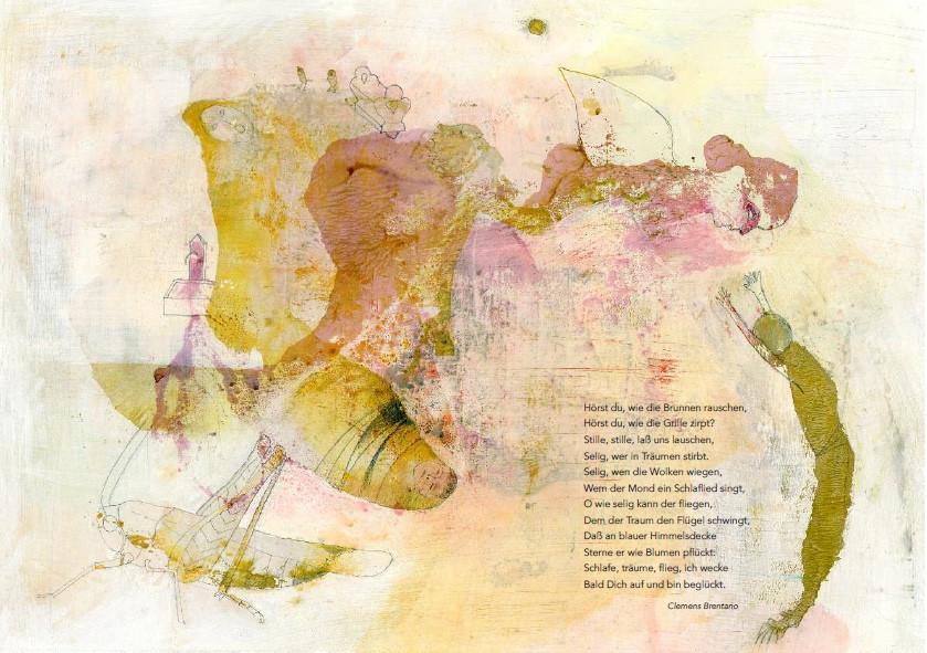 Poesia di Clemens Brentano - Dal libro Poesie illustrate, ed. Tassotti
