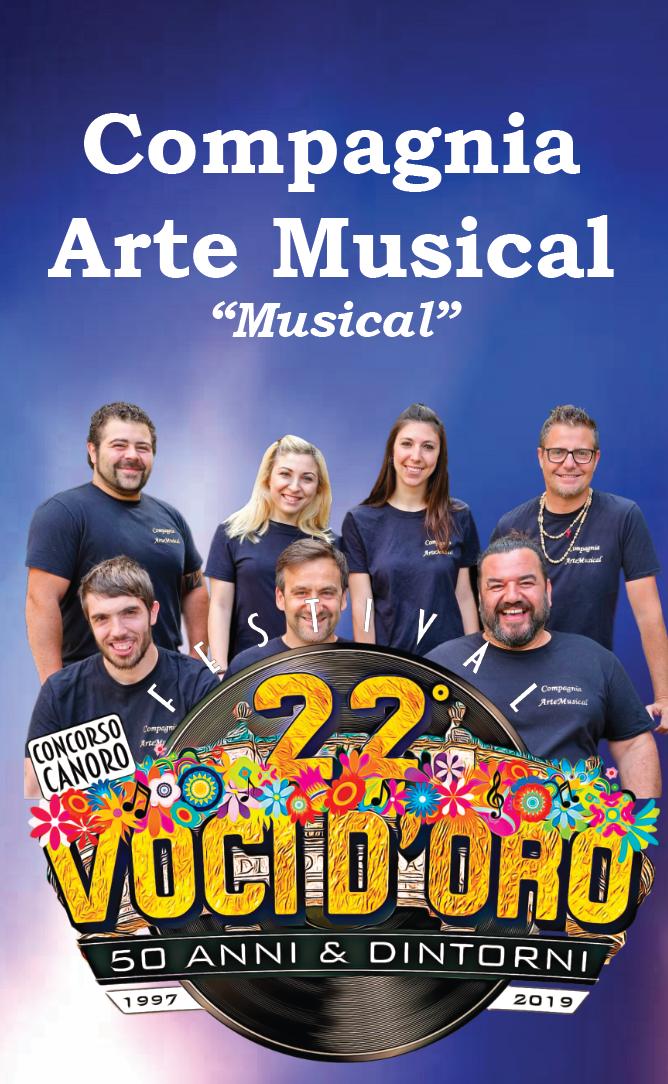 La Compagnia ArteMusical Livorno saranno ospiti il 5 luglio al 22° Festival  di Voci d'Oro 🎤