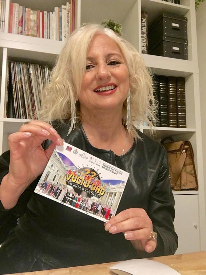 ...ed ecco la cartolina del 22° Festival Voci d'Oro