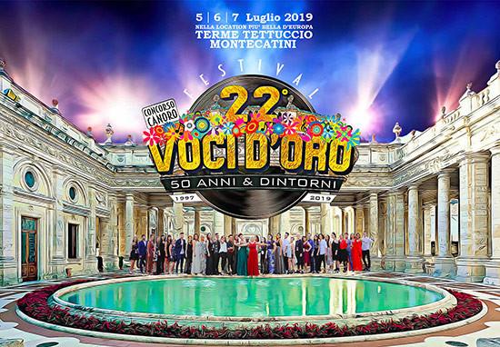 Prorogate iscrizioni al 20 maggio per Festival Voci d'Oro 22esima edizione!