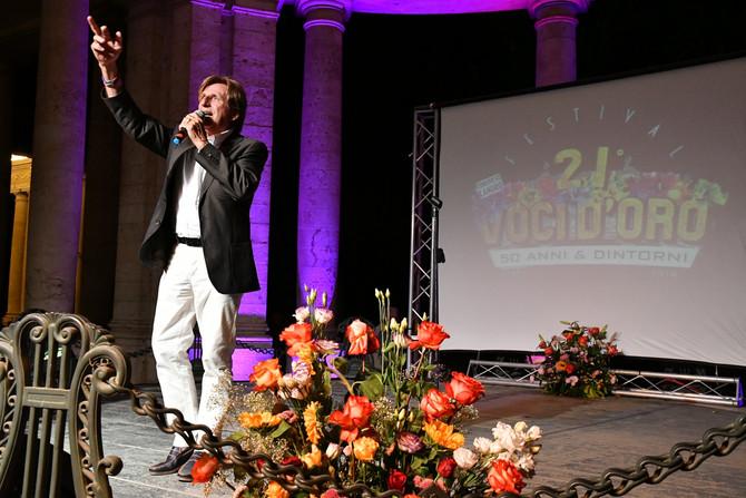 Paolo Mengoli affezionato al Festiva Voci d'Oro in giuria