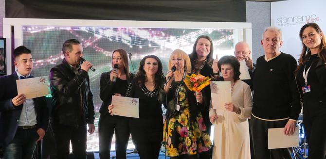 """I Cantanti Voci d'Oro a """"Il Nostro Sanremo"""" 2018 esibizione a Casa Sanremo durante il"""