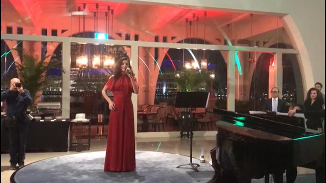 """Sofia Zaros 2° Classificata Festival Voci d'Oro 2017 scelta per cantare """"Inno Nazionale Ita"""