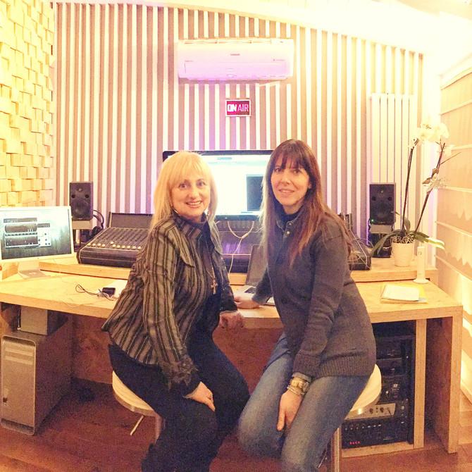 """In Studio con Claudia Venturi per inedito """"Ascolta il tuo cuore"""""""