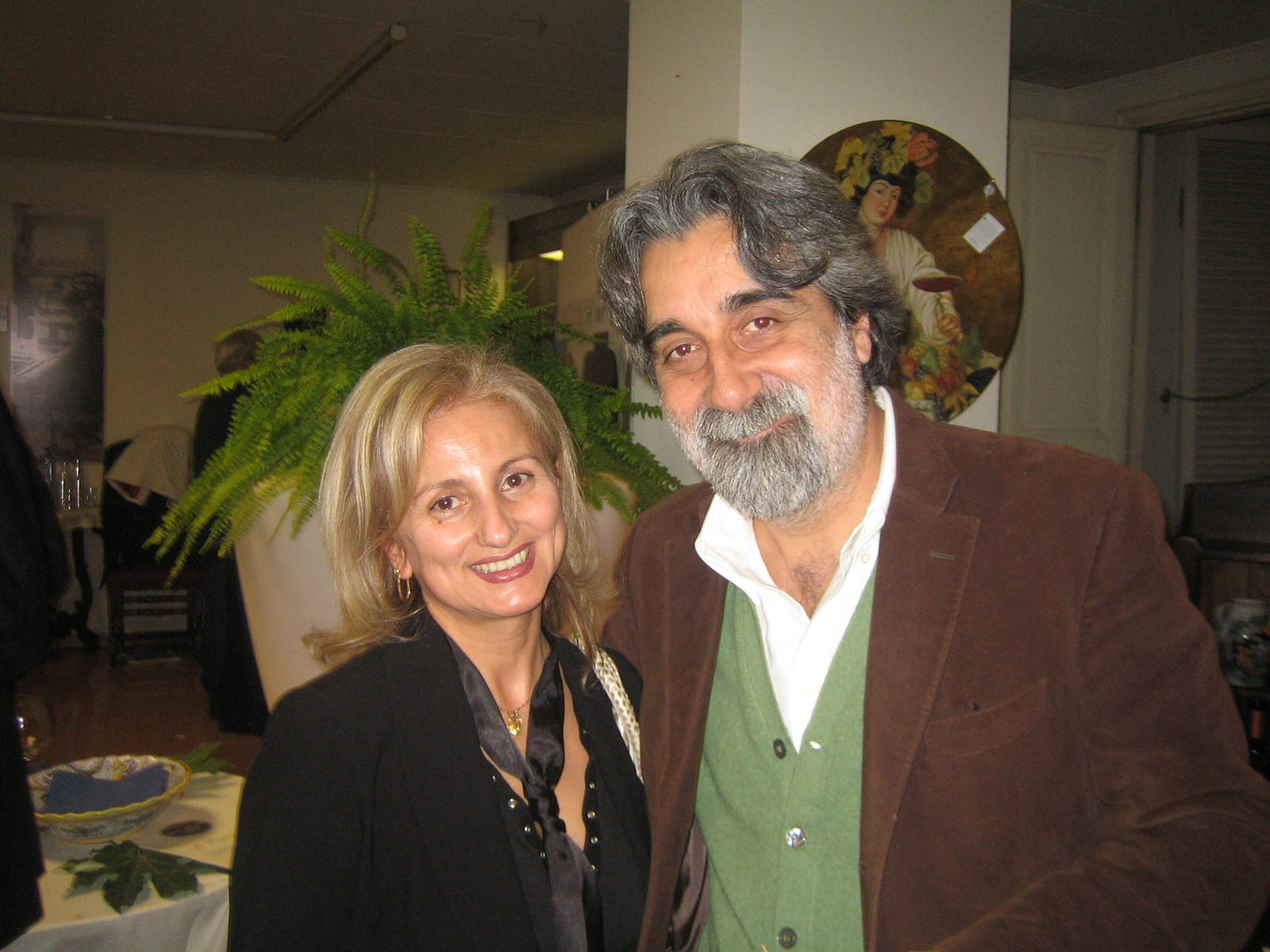 Marystar e Beppe Vessicchio