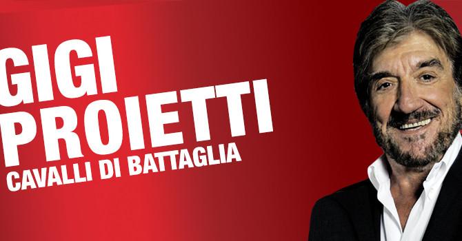 Anche Gigi Proietti come noi a Montecatini per la Fondazione Firenze Radioterapia oncologica.